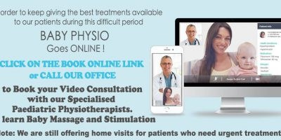 Online Paediatric Physio consultation for physiotherapy for baby